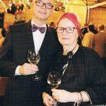 Petra Schleifenheimer und Roland auf dem Empfang des Empfang des Fürther Oberbürgermeisters Dr. Thomas Jung.